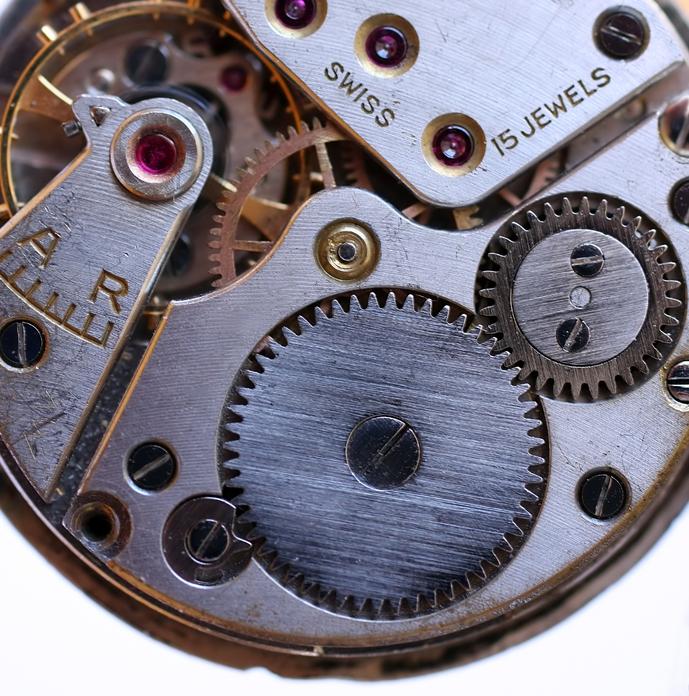 detail of clockwork